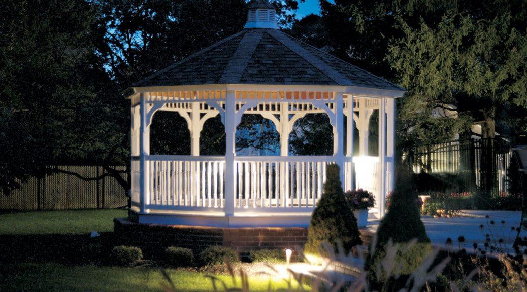 Minnesota Landscaping Ideas with Gazebo